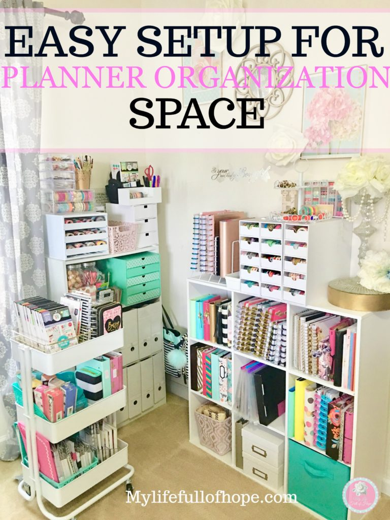 How to setup a planner organization space of your own in just a few minutes.
